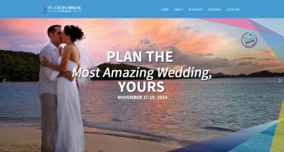 Launch of St. Croix Bridal Symposium Website