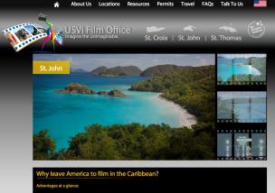 USVI Film Office Launches New Website