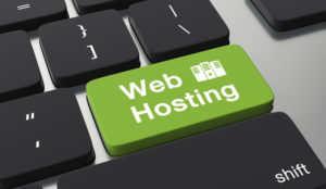 web hosting button on keyboard