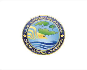VI Casino Control Commission logo