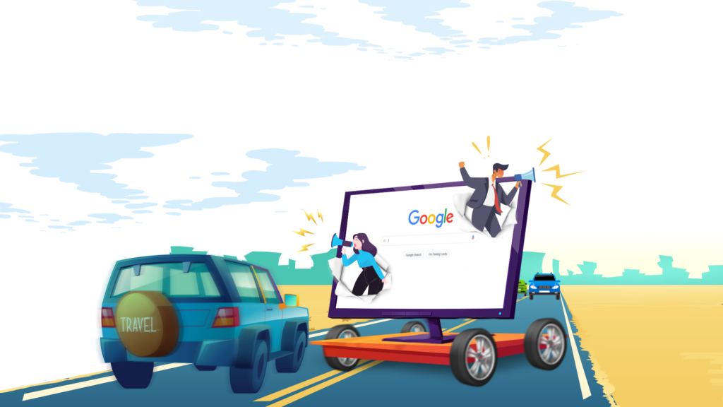 picture of google traffic seo